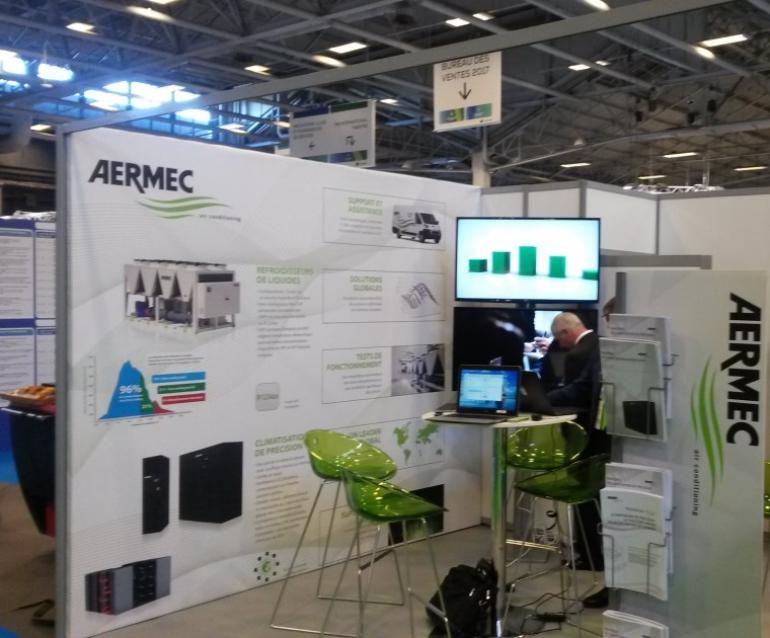 Aermec auf der Data Centre World