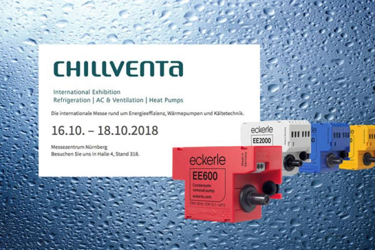 Eckerle@Chillventa - Eckerle goes Nuremberg 16th - 18th October 2018